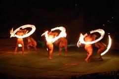 Jogo com incêndio Imagens de Stock Royalty Free