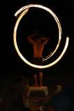 Jogo com incêndio Fotografia de Stock