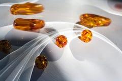 Jogo com mármores Fotografia de Stock