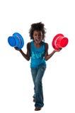 Jogo com tampões Imagem de Stock Royalty Free