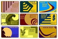 Jogo completo dos cartões. Foto de Stock Royalty Free