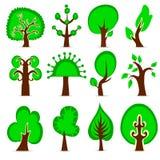 Jogo da árvore do projeto ilustração stock