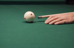 Jogo da associação (bilhar) Fotografia de Stock Royalty Free