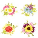 Jogo da flor Fotos de Stock