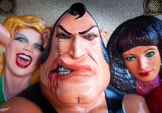 Jogo da força do carnaval Imagem de Stock Royalty Free
