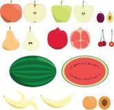 Jogo da fruta Fotografia de Stock Royalty Free