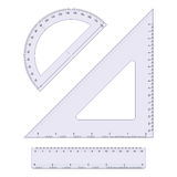Jogo da geometria Fotografia de Stock Royalty Free