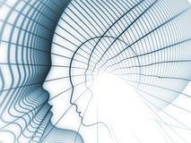 Jogo da geometria da alma Imagens de Stock