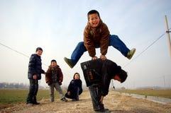 Jogo da infância Fotos de Stock Royalty Free