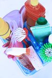 Jogo da limpeza Imagem de Stock