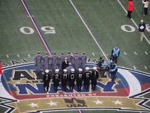 Jogo 2014 da marinha do exército Foto de Stock