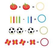 Jogo da matemática, parte 2 Imagem de Stock Royalty Free