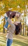 Jogo da matriz e da filha Fotos de Stock Royalty Free
