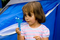 Jogo da menina Foto de Stock Royalty Free