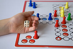 Jogo da mesa Fotografia de Stock Royalty Free