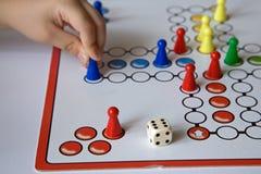 Jogo da mesa Imagem de Stock