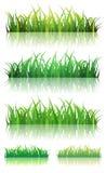 Jogo da mola ou da grama verde do verão ilustração royalty free