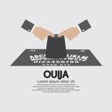 Jogo da placa de Ouija ilustração stock