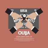 Jogo da placa de Ouija ilustração do vetor