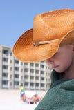 Jogo da praia Fotos de Stock Royalty Free