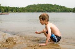 Jogo da praia Fotografia de Stock Royalty Free