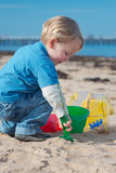 Jogo da praia. Imagens de Stock Royalty Free