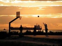 Jogo da sombra Foto de Stock