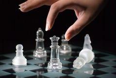 Jogo da xadrez Foto de Stock