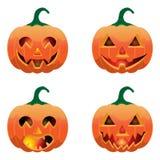 Jogo das abóboras para Halloween Foto de Stock Royalty Free