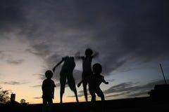 Jogo das crianças Foto de Stock Royalty Free