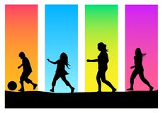 Jogo das crianças Imagem de Stock Royalty Free