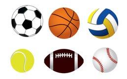 Jogo das esferas Fotografia de Stock Royalty Free