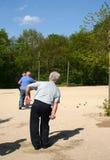 Jogo das esferas, jogo francês. Fotografia de Stock Royalty Free