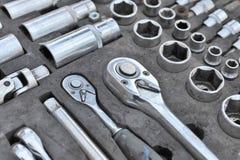 Jogo das ferramentas. Imagem de Stock