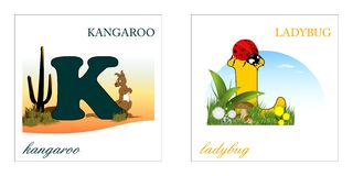 Jogo das letras do alfabeto, quilolitro Fotos de Stock Royalty Free