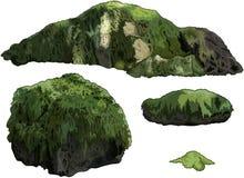 Jogo das pedras ilustração stock