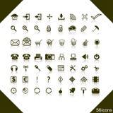 Jogo de ícones do Web. Foto de Stock