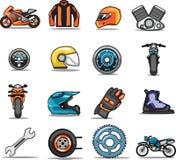 Jogo de ícones do Web Fotografia de Stock