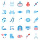 Jogo de ícones médicos Imagem de Stock Royalty Free