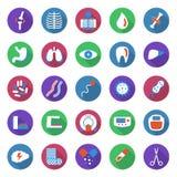 Jogo de ícones médicos Imagem de Stock