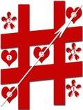 Jogo de amor Imagens de Stock Royalty Free