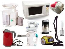 Jogo de aparelhos electrodomésticos Imagem de Stock