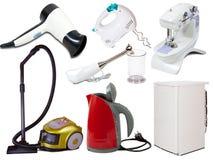 Jogo de aparelhos electrodomésticos Imagens de Stock