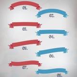 Jogo de bandeiras do vetor Foto de Stock