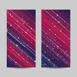 Jogo de bandeiras verticais Imagem de Stock