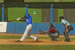 Jogo de basebol Foto de Stock Royalty Free