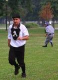 Jogo de basebol Imagem de Stock Royalty Free