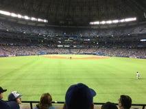 Jogo de basebol de Blue Jays Fotografia de Stock