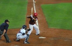 Jogo de basebol de EUA-Venezuela Fotografia de Stock Royalty Free