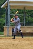 Jogo de basebol do estilo antigo Fotos de Stock
